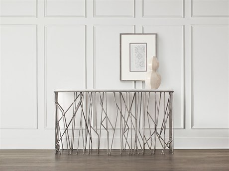 Hooker Furniture Thicket Silver 64''L x 16''W Rectangular Console Table HOO557885001SLV