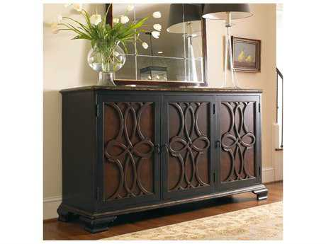 Hooker Furniture Black 74''L x 23''W Rectangular Two Tone Credenza Buffet HOO510385001