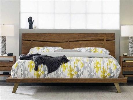 Hooker Furniture Transcend Light Cinnamon Queen Size Platform Bed HOO700090350
