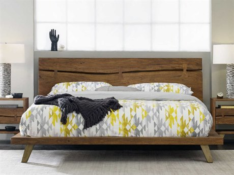 Hooker Furniture Transcend Light Cinnamon King Size Platform Bed HOO700090366