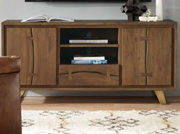 Transcend Medium Wood TV Stand