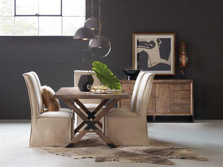 Hooker Furniture Trestle Dining Room Set HOO166675207MWDSET