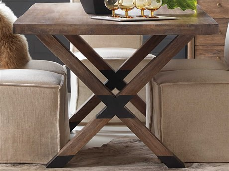 Hooker Furniture Trestle Medium Wood 84'' Wide Rectangular Dining Table
