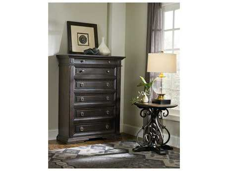 Hooker Furniture Treviso Rich Dark Macchiato 46''W x 20''D Rectangular Chest of Drawers