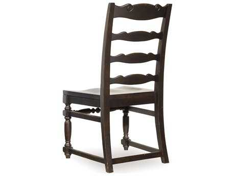 Hooker Furniture Treviso Primary Finish Is A Rich, Dark Macchiato With Rub-through That Shows The Warmth Of Wood And Has Soft Surface Texture To Give Appearance Varnish Aged Naturally Over Time. Side Dining Chair