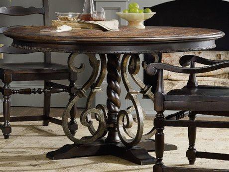 Hooker Furniture Treviso Dark Macchiato 54'' Wide Round Dining Table HOO537475203