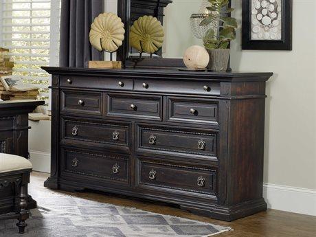 Hooker Furniture Treviso Rich Dark Macchiato Double Dresser HOO537490002
