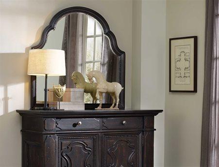 Hooker Furniture Treviso Rich Dark Macchiato 43''W x 41''H Landscape Dresser Mirror