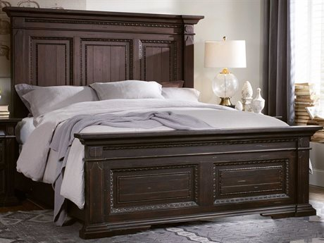 Hooker Furniture Treviso Rich Dark macchiato King Size Panel Bed HOO537490266