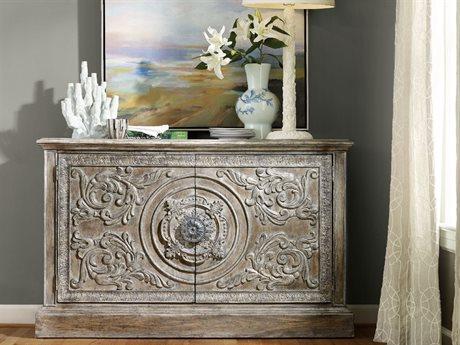 Hooker Furniture True Vintage Soft Driftwood 60''L x 18''W Rectangular Buffet