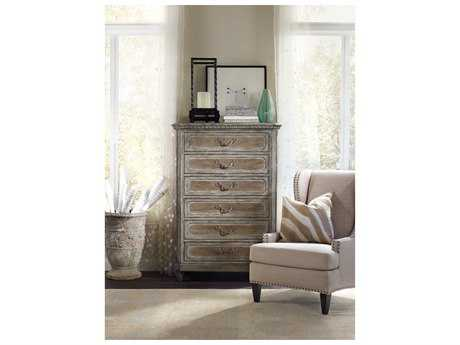 Hooker Furniture True Vintage Soft Driftwood 42''W x 20''D Rectangular Chest of Drawers HOO570190010