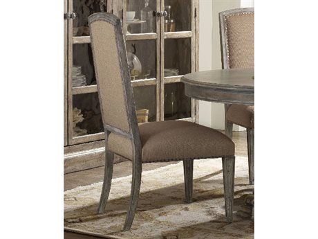 Hooker Furniture True Vintage Soft Driftwood-tone with Whitewash Dining Side Chair HOO570175410