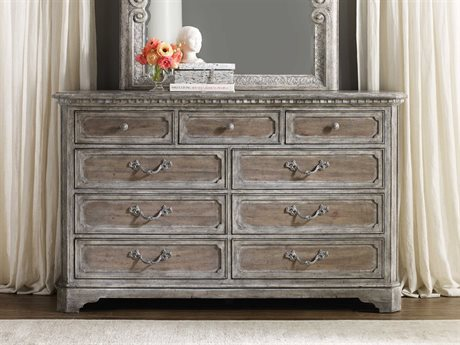 Hooker Furniture True Vintage Soft Driftwood Double Dresser