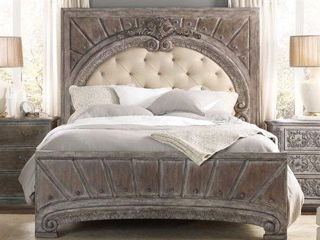 Hooker Furniture True Vintage Soft Driftwood King Size Panel Bed HOO570190866