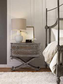 Hooker Furniture True Vintage Upholstered Canopy Bed Bedroom Set HOO570190150SET2