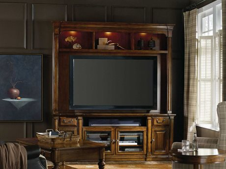 Hooker Furniture Tynecastle Medium Wood 85''L x 21''W Entertainment Center HOO532355202