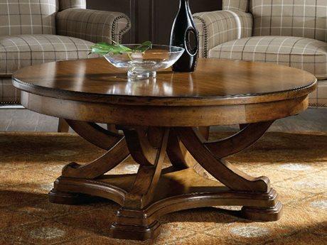 Hooker Furniture Tynecastle Medium Wood 44'' Wide Round Cocktail Table