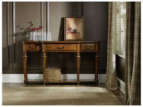 Hooker Furniture Tynecastle Medium Wood 64''L x 14''W Rectangular Console Table