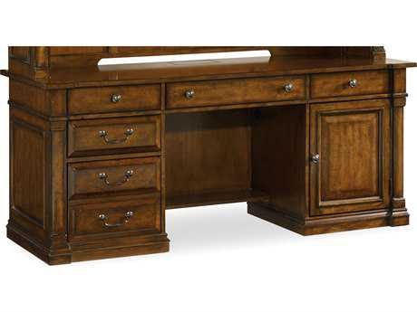 Hooker Furniture Tynecastle Medium Wood 72''L x 24''W Rectangular Computer Credenza