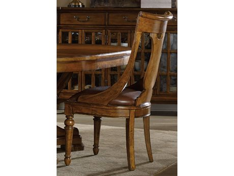 Hooker Furniture Tynecastle Medium Wood Side Dining Chair HOO532375410