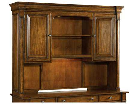 Hooker Furniture Tynecastle Medium Wood Computer Credenza Hutch