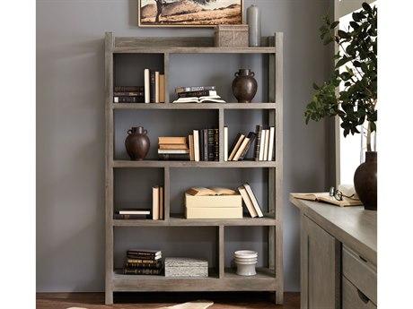 Hooker Furniture Urban Farmhouse Gray Bunching Bookcase HOO555710445GRY