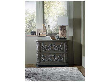 Hooker Furniture Vintage West Dramatic Dark Charcoal Lateral File Cabinet HOO570010466