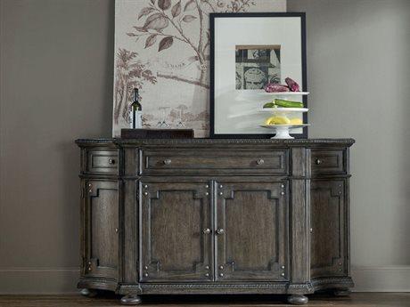 Hooker Furniture Vintage West Dramatic Dark Charcoal 72''L x 22''W Rectangular Buffet
