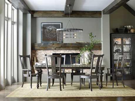 Hooker Furniture Vintage West Dining Room Set HOO570075200SET