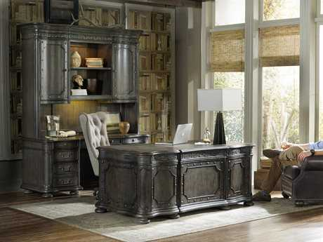 Hooker Furniture Vintage West Home Office Set HOO570010563SET