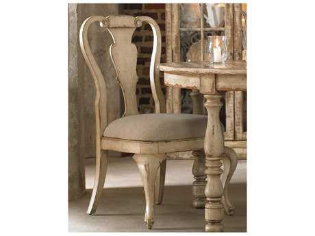 Hooker Furniture Wakefield White Splatback Taupe Dining Side Chair HOO500475410