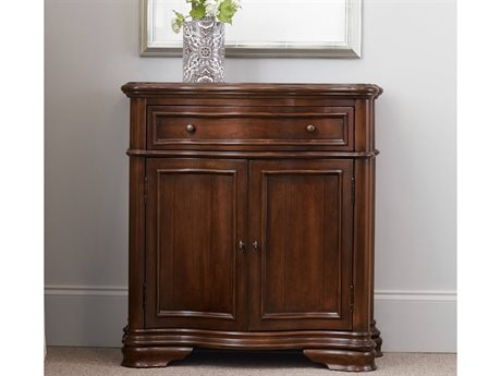 Hooker Furniture Waverly Place Distressed Antique Cherry 32''L x 15''W Hall Console Table HOO36650106