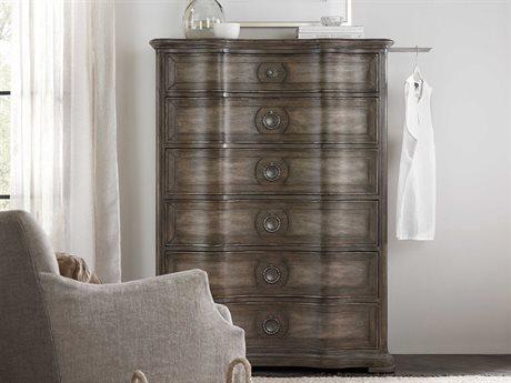 Hooker Furniture Woodlands Medium Wood Six-Drawer Chest of Drawers