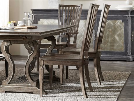 Hooker Furniture Woodlands Medium Wood Side Dining Chair (Sold in 2)