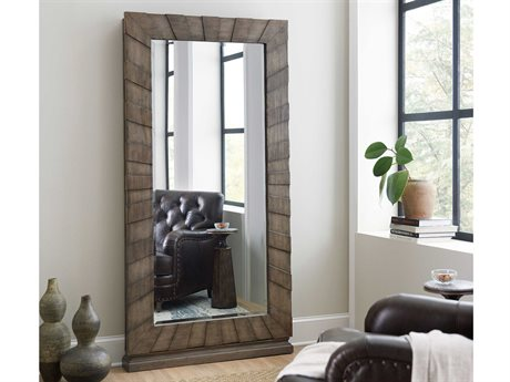 Hooker Furniture Woodlands Medium Wood Floor Mirror