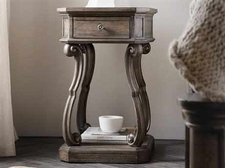 Hooker Furniture Woodlands Medium Wood One-Drawer Nightstand