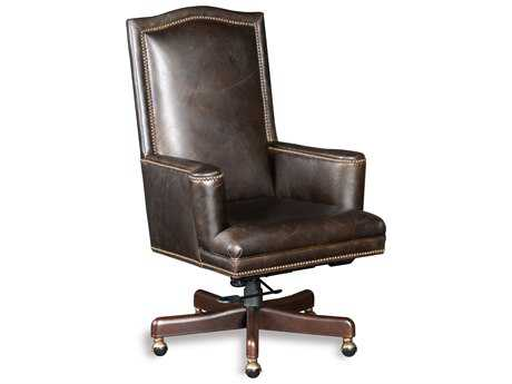 Hooker Furniture Woodward Chanel Natchez Brown Executive Chair HOOEC451087