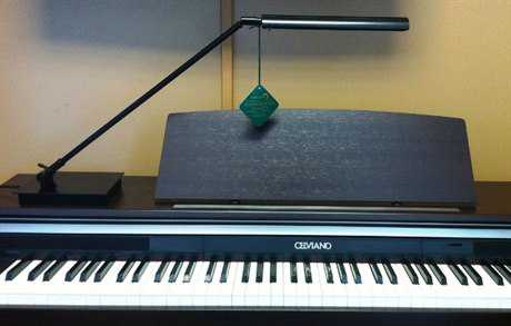 House of Troy Grand LED Piano & Desk Lamp HTG350