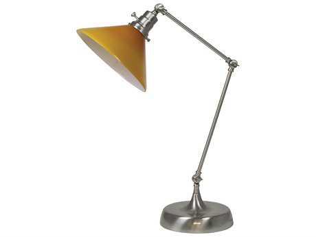 House of Troy Otis Industrial Table Lamp HTOT650SNAM