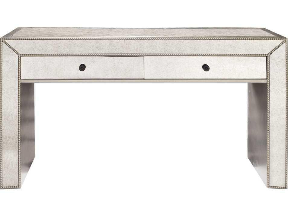 Astounding Howard Elliott Antiqued Mirrored 56 W X 18 D Rectangular Console Table Machost Co Dining Chair Design Ideas Machostcouk