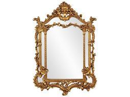 Arlington Gold Baroque 34 x 49 Gold Wall Mirror