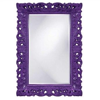 Howard Elliott Barcelona 32 x 46 Royal Purple Wall Mirror HE2020RP