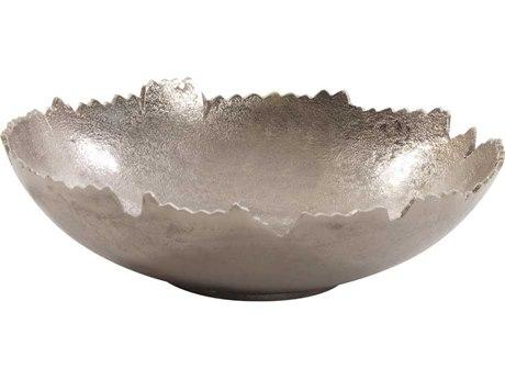 Howard Elliott Broken Edge Silver Bowl / Wall Art HE35048