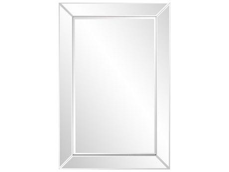 Howard Elliott Camden Clear Mirrored Frame Wall Mirror