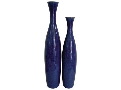 Howard Elliott Cobalt Blue 5 x 22 / 4 Blue Vase