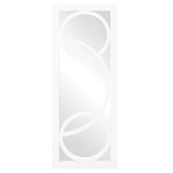 Howard Elliott Dynasty 15 x 38 White Wall Mirror