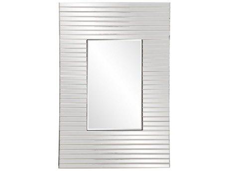 Howard Elliott Edge 21'' W x 36'' H Clear Wall Mirror