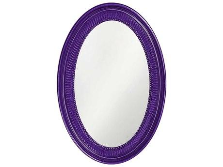 Howard Elliott Ethan 21 x 31 Royal Purple Wall Mirror HE2110RP