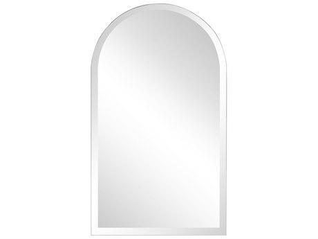 Howard Elliott Frameless Mirrored Wall Mirror