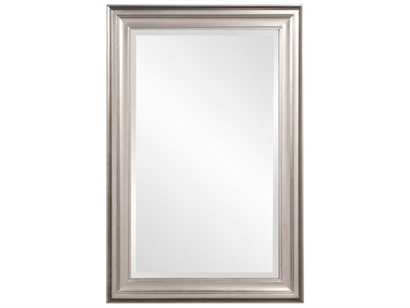 Howard Elliott George 24 x 36 Bright Nickel Wall Mirror